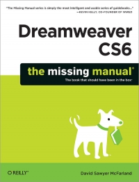 Dreamweaver CS6: The Missing Manual Free Ebook