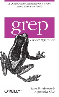grep Pocket Reference Free Ebook