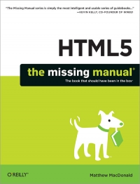 HTML5: The Missing Manual Free Ebook
