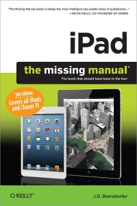iPad: The Missing Manual, 5th Edition Free Ebook