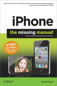 iPhone: The Missing Manual, 4th Edition Free Ebook