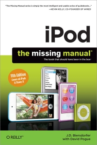 iPod: The Missing Manual, 11th Edition Free Ebook