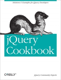 jQuery Cookbook Free Ebook