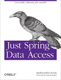 Just Spring Data Access Free Ebook