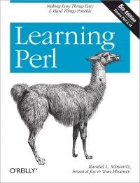 Learning Perl, 6th Edition