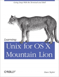 Learning Unix for OS X Mountain Lion Free Ebook