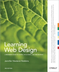 Learning Web Design, 3rd Edition Free Ebook