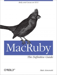MacRuby: The Definitive Guide Free Ebook