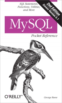 MySQL Pocket Reference, 2nd Edition Free Ebook