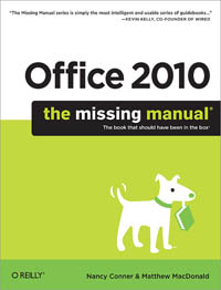 Office 2010: The Missing Manual Free Ebook