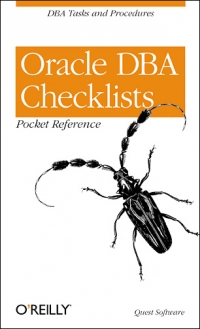Oracle DBA Checklists Pocket Reference Free Ebook