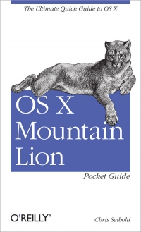 OS X Mountain Lion Pocket Guide Free Ebook