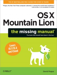 OS X Mountain Lion: The Missing Manual Free Ebook