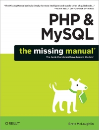 PHP & MySQL: The Missing Manual Free Ebook
