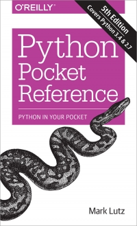Python Pocket Reference, 5th Edition