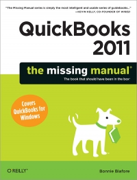 QuickBooks 2011: The Missing Manual Free Ebook