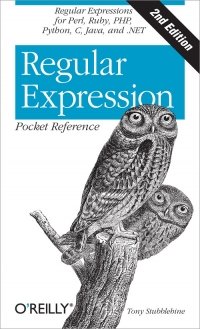 Regular Expression Pocket Reference, 2nd Edition