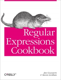 Regular Expressions Cookbook Free Ebook