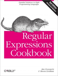 Regular Expressions Cookbook, 2nd Edition Free Ebook