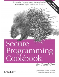 Secure Programming Cookbook for C and C++ Free Ebook