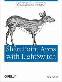 SharePoint Apps with LightSwitch Free Ebook