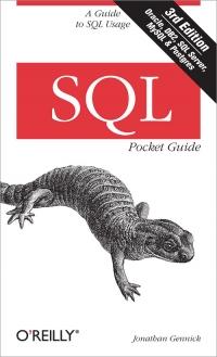 SQL Pocket Guide, 3rd Edition Free Ebook