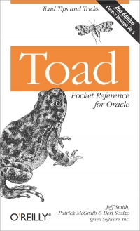 Toad Pocket Reference for Oracle, 2nd Edition Free Ebook