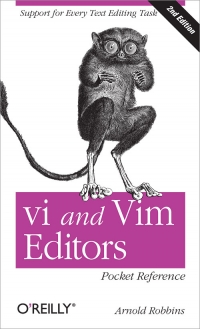 vi and Vim Editors Pocket Reference, 2nd Edition Free Ebook