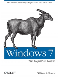 Windows 7: The Definitive Guide Free Ebook