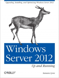 Windows Server 2012: Up and Running Free Ebook