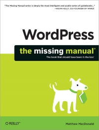 WordPress: The Missing Manual Free Ebook