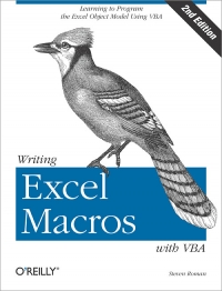 Writing Excel Macros with VBA, 2nd Edition Free Ebook