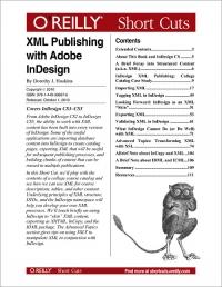 XML Publishing with Adobe InDesign Free Ebook