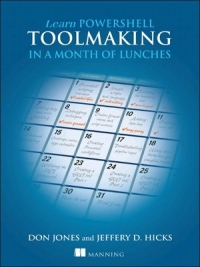 Learn PowerShell Toolmaking in a Month of Lunches Free Ebook