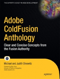 Adobe ColdFusion Anthology Free Ebook