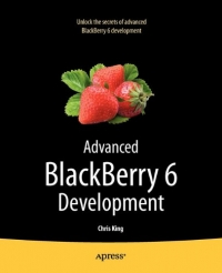 Advanced BlackBerry 6 Development, 2nd Edition Free Ebook