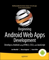 Beginning Android Web Apps Development Free Ebook