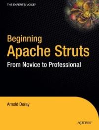 Beginning Apache Struts Free Ebook
