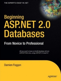 Beginning ASP.NET 2.0 Databases, 2nd Edition