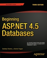 Beginning ASP.NET 4.5 Databases, 3rd Edition