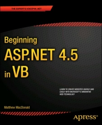 Beginning ASP.NET 4.5 in VB Free Ebook
