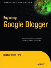 Beginning Google Blogger Free Ebook