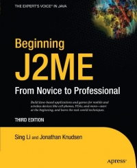 Beginning J2ME, 3rd Edition Free Ebook