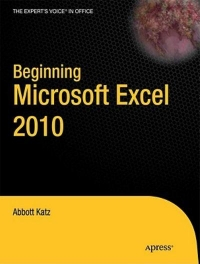 Beginning Microsoft Excel 2010 Free Ebook