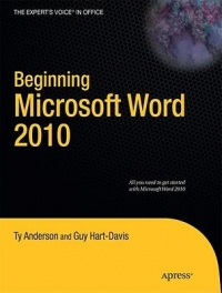 Beginning Microsoft Word 2010 Free Ebook
