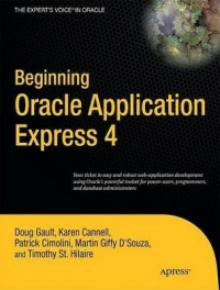 Beginning Oracle Application Express 4 Free Ebook