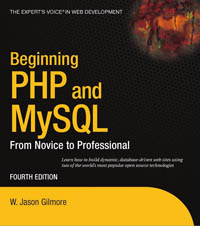 Beginning PHP and MySQL, 4th Edition