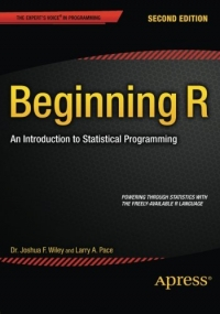 Beginning R, 2nd Edition