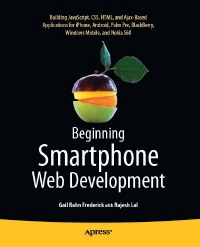Beginning Smartphone Web Development Free Ebook