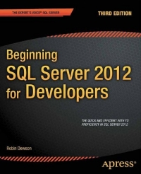 Beginning SQL Server 2012 for Developers, 3rd Edition Free Ebook